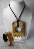 Lacquer Horn Necklace (25)