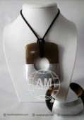 Lacquer Horn Necklace (27)