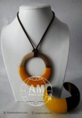 Lacquer Horn Necklace (29)