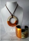 Lacquer Horn Necklace (31)