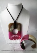 Lacquer Horn Necklace (38)