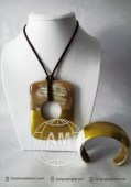 Lacquer Horn Necklace (42)