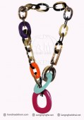 Lacquer Horn Necklace (47)