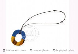 Lacquer Horn Necklace (51)
