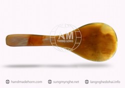 Salad spoon fork horn (56)