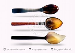 Salad spoon fork horn a (180)