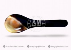 Salad spoon fork horn a (181)
